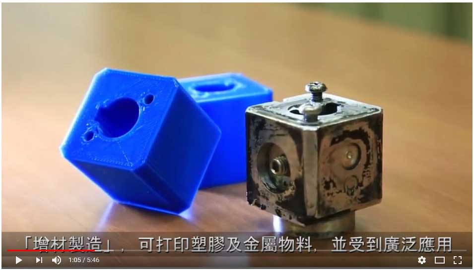 Collaboration with HKPolyU on 3D Printing