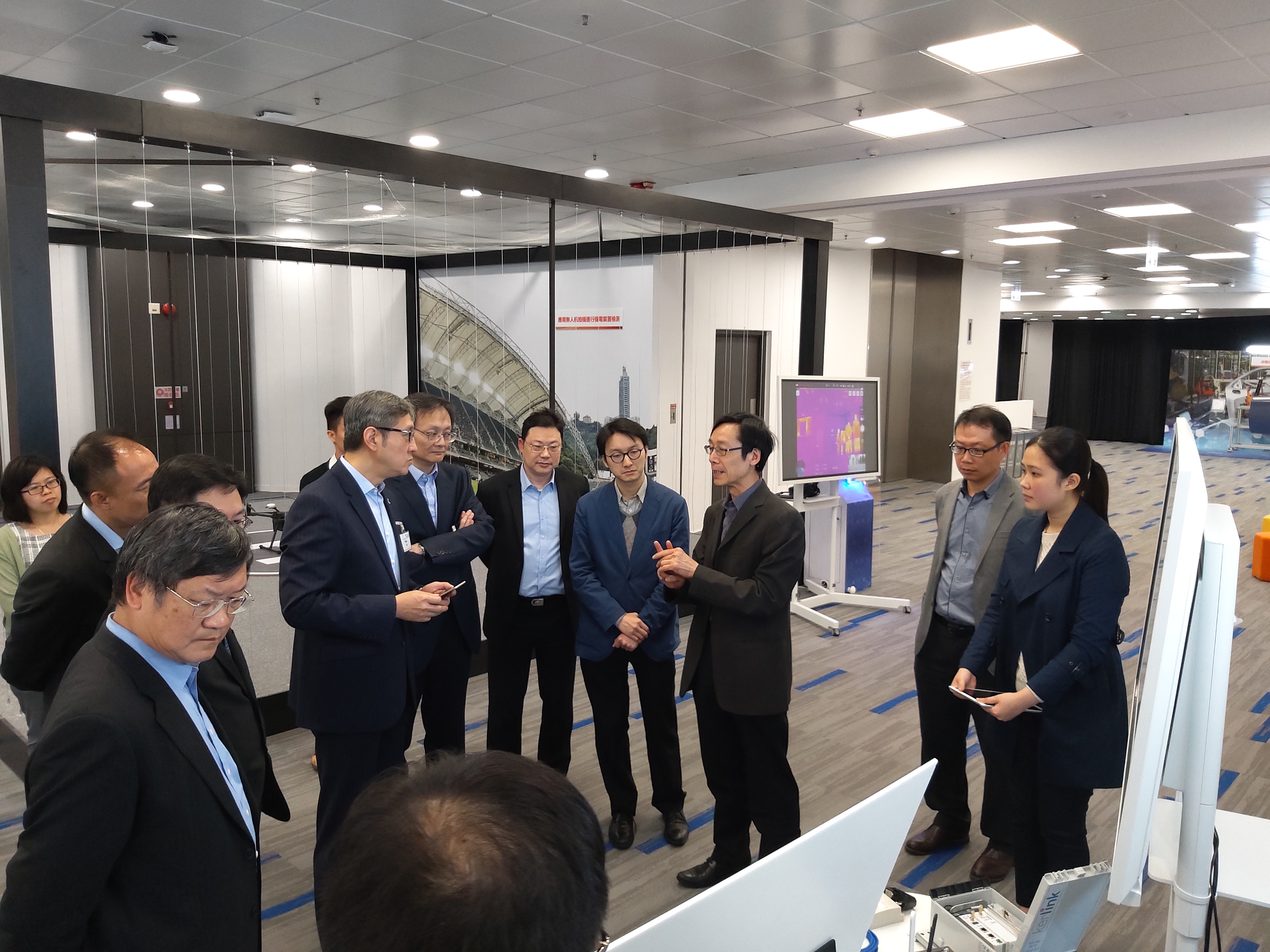 3 April 2019 - Cyperport visited EMSD