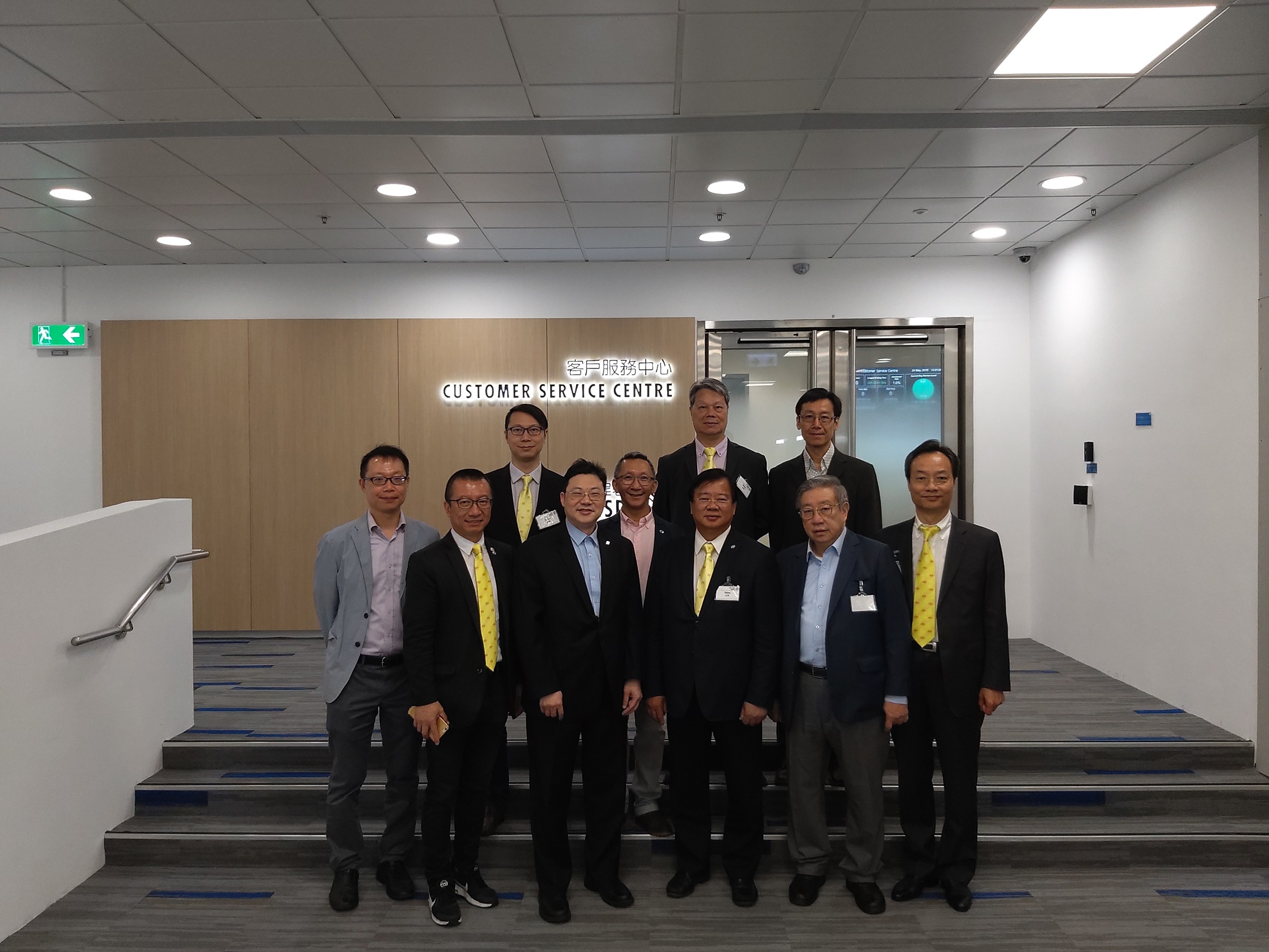 24 May 2019 – Mr. Lee Yuen Fat, Chairman for Hong Kong Federation of Innovative Technologies and Manufacturing Industries visited to EMSD