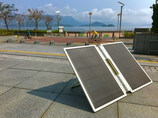 Portable solar renewable system (MATCHED with I&T Wish W-0170)