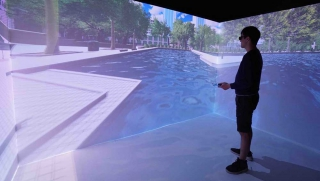 Immersive Cave Automatic Virtual Environment (CAVE) System (MATCHED with I&T Wish W-0045)