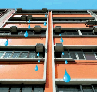 Air-conditioner Water Dripping Detection System in High-rise Buildings