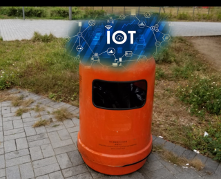 Smart Refuse Bin at Remote Sites