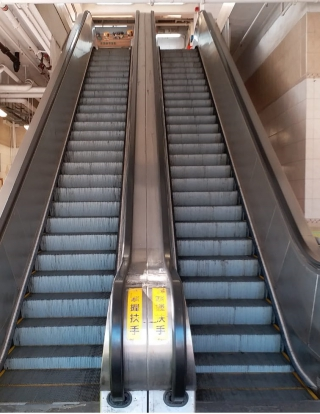 A.I. Video Analytic System for Escalator Monitoring in Market