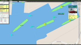 Fleet Monitoring System for Vessels
