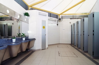 Odour Control in Public Toilets using Advanced Technologies