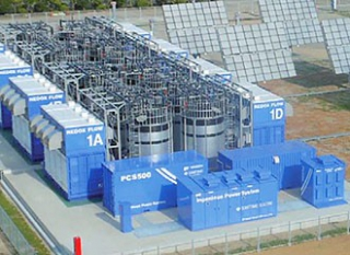 Flow Battery for Storage of Renewable Energies