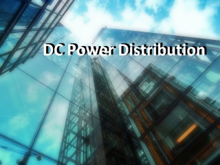 Application of DC Power Distribution in EMSD Headquarters