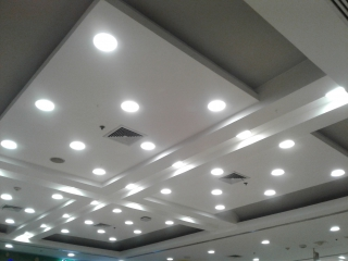 Fluid cooled heatsink LED lighting