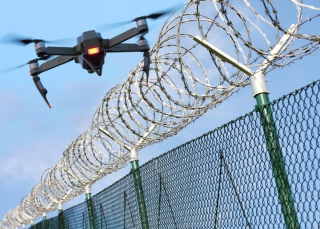 Automatic Drone-enabled Inspection with Imaging Processing Function at Prison
