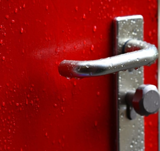 Self-disinfecting Surfaces for Door Handles
