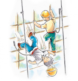 Work-at-Height Safety Monitoring