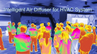 Intelligent Air Diffuser for HVAC system