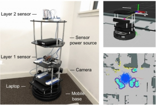 Robots for indoor environmental quality (IEQ) measurement