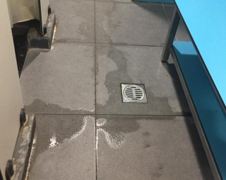 Floor Wetness Detection for Smart Public Toilets