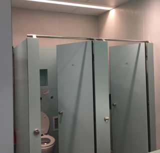 Cubicle occupancy detection for Smart Public Toilets