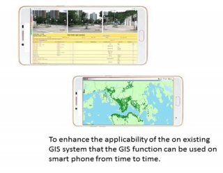 Mobile App for Geographic Information System (GIS)