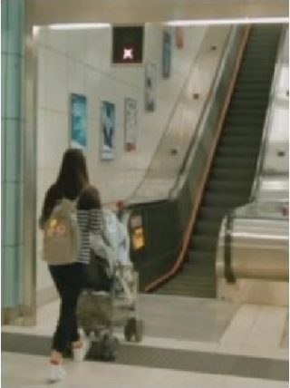 Video Analytics - Detection of Bulky Objects Near Escalator